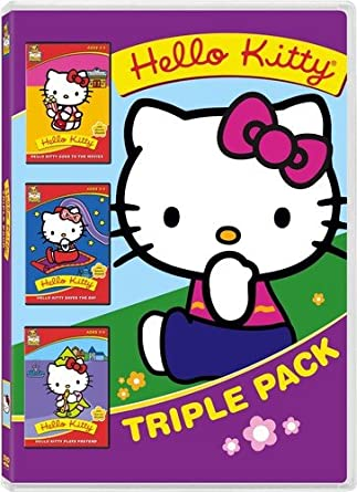 abdaf11c2 Hello Kitty Triple Pack (goes to the movies, saves the day, plays pretend