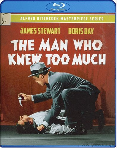 Blu-ray : The Man Who Knew Too Much (Snap Case)