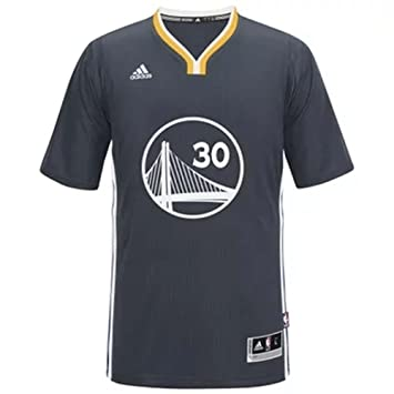 Adidas - Gorra del Equipo de Baloncesto de la NBA Golden State Warriors # 30 Stephen Curry Baloncesto Corto Camiseta Negro, Negro: Amazon.es: Deportes y ...