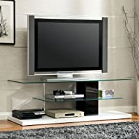 247SHOPATHOME Idf-5811TV Television-Stands, Black