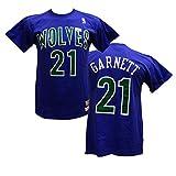 Kevin Garnett Minnesota Timberwolves Mitchell & Ness Hardwood Classics Name & Number T-shirt (L)