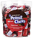 Original Dark Chocolate Goldenberg's® Peanut Chews®, 2 Lbs