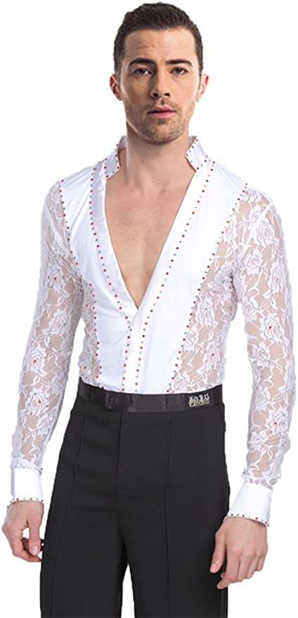 CBTLVSN Mens Solid Long Sleeve Casual Business Slim Fit Button Down Dress Shirts