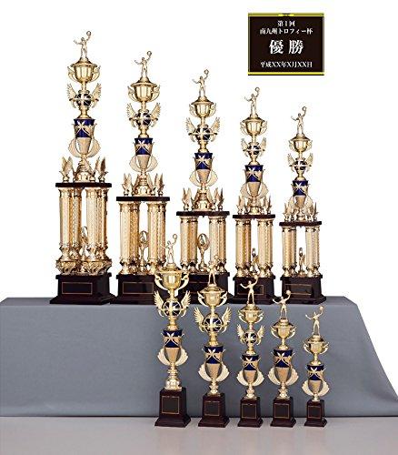 [レーザー彫刻名入れ] GOLD SHACHI 優勝トロフィー T8707 B01CXK2P1Q Iサイズ 高さ43cm 重さ330g|16.ゲートボール 16.ゲートボール Iサイズ 高さ43cm 重さ330g