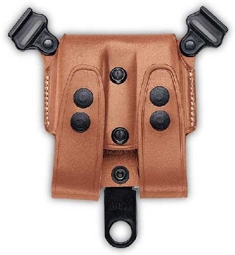 Galco SCL24 SCL Double Magazine Case For Shoulder System, Staggered Polymer, Ambidextrous, Tan 51CDwkfJjTL