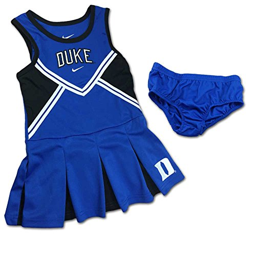 [Nike Duke University Cheerleader Outfit and Bloomer - Blue (4T)] (Cheerleader Outfit For Girls)