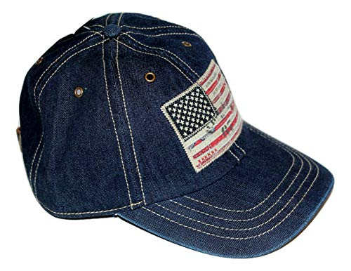 Ralph Lauren Polo Men's Denim USA Flag Baseball Cap