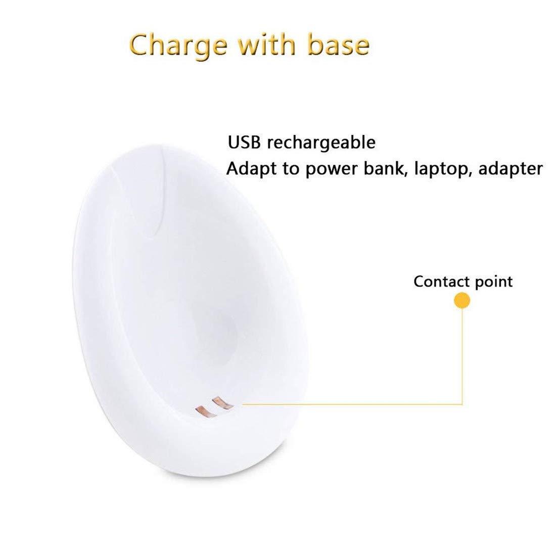 HFOUR Chest Massager/Breast (Carga Enhancer Electric Handheld Para Mujeres/Simulación SPA Vibration Massage (Carga Massager/Breast USB) 0691b6