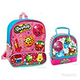 Shopkins Backpack and Dual Compartment Lunch Box