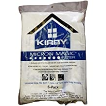 Kirby Part#204808 / 204811 - Genuine Kirby Style F HEPA Filtration Vacuum Bags for Sentria Models - 6/Package, Sentria®, for units built on 2009 and later