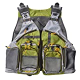 M2C Adjustable Lightweight Fly Fishing Vest Mesh Back for Men and Women Gear And Accessories M2C