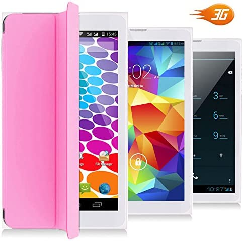 7-inch HD Android Marshmallow Tablet & Smartphone (DualSIM + Bluetooth + Protective Cover Built in) 51CDyz2pSHL