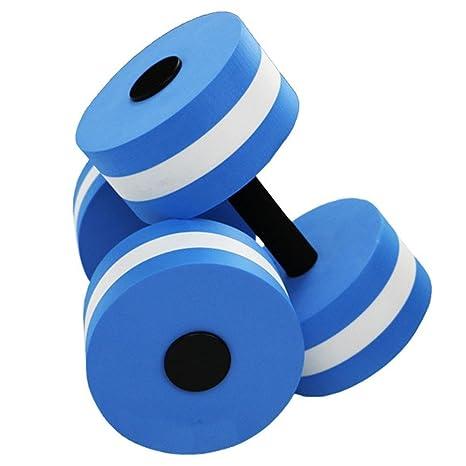 BBYaKi Mancuernas Yoga Agua , Blue