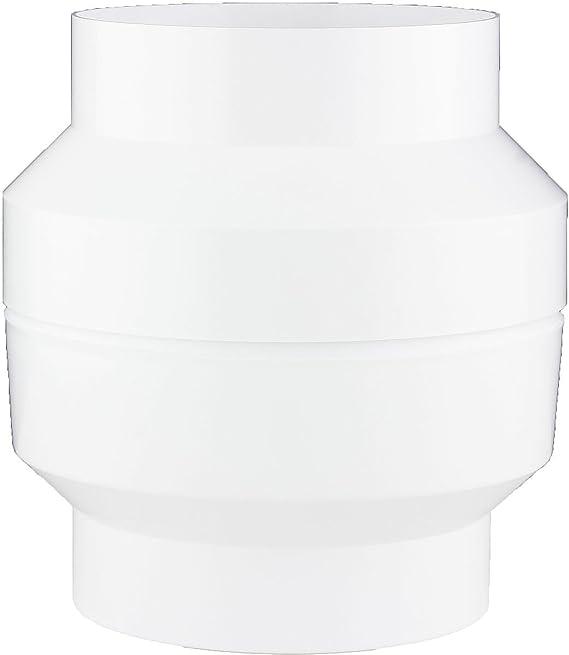 18397-002 Kondenswasserabscheider Kondenswassersammler /Ø 100 /Ø 125 wei/ß Rundrohr Abluft /Ø 125 mm MKK
