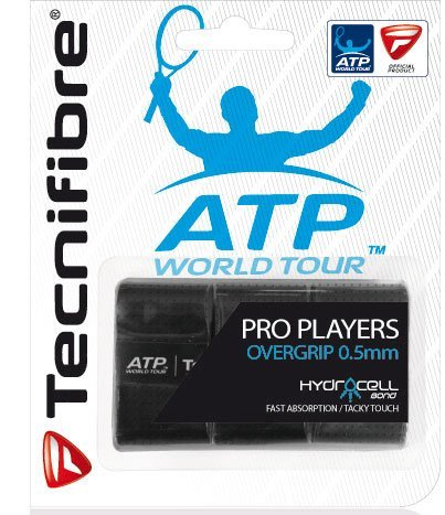 Tecnifibre Players (TECNIFIBRE PROPLAYER3PK Pro Players Tennis Overgrip 3 Pack)