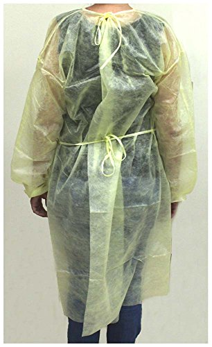 Toolusa 50 Piece Disposable Yellow Gowns: Dc3 by ToolUSA (Image #2)