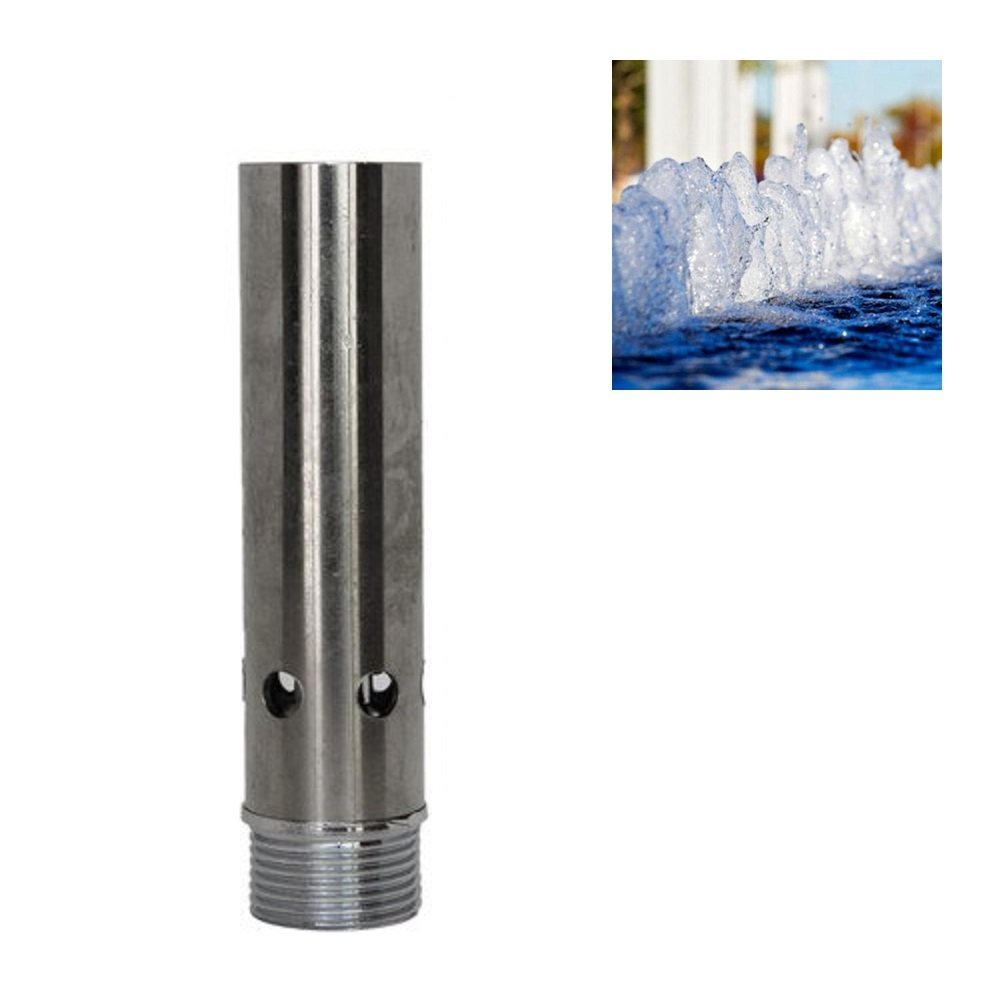 NAVADEAL 1'' DN25 Stainless Steel Bubbling Spring Water Fountain Nozzle Spray Pond Sprinkler Head