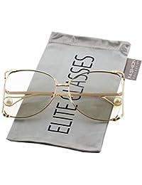 084dd4f998b Oversized Designer Sunglasses Fashion Women Pearl Retro Oceanic Clear Lens  Oval Lip Sun Glasses 2018
