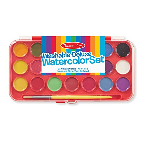 Melissa & Doug Deluxe Watercolor Paint Set With 21 Paints and - Music Kit Directors Book