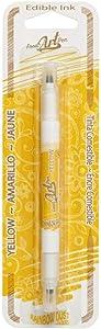 Yellow Rainbow Dust Food Art Pen Art Supplies