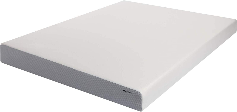 AmazonBasics 8-Inch Memory Foam Mattress - Soft Plush Feel, Queen