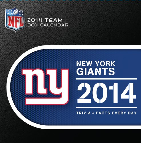 Turner - Perfect Timing 2014 New York Giants Box Calendar (8051208) ()