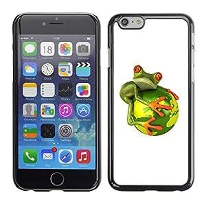 PC/Aluminum Funda Carcasa protectora para Apple Iphone 6 Global Warming Extinction / JUSTGO PHONE PROTECTOR