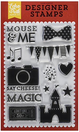 Price comparison product image Echo Park Paper Company MA109045 Mouse and Me Craft Stamp