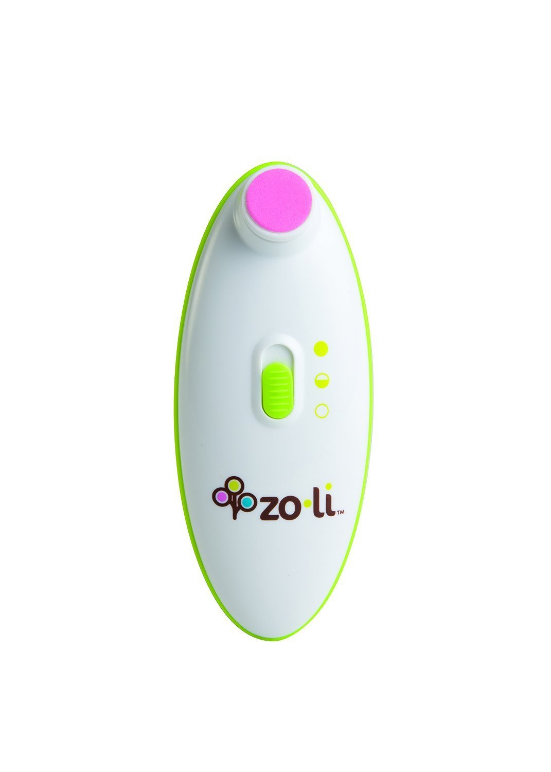 Electric Nail Trimmer with Storage Case & 4 Cushioned Pads by Zo·Li