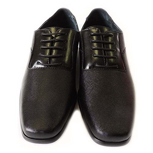 NEW FERRO ALDO FASHION MENS LACE UP OXFORDS ROUND TOE LEATHER LINED CLASSIC DRESS SHOES/BLACK/MFA19277B kkCzhgTele