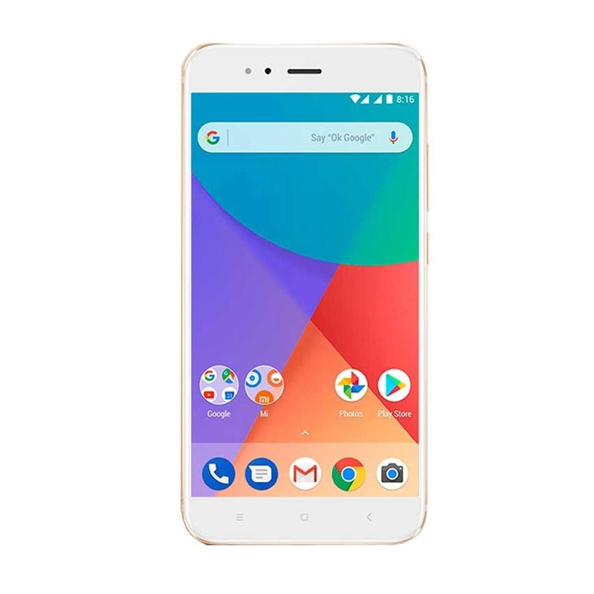 Xiaomi Mi A1 SIM Doble 4G 32GB Oro, Blanco - Smartphone (14 cm (5.5