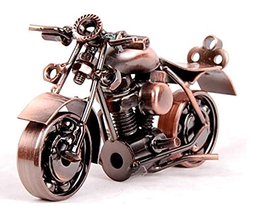YBB Technology Motorcycle decor, Handmade Motorcycle Model Collectible Art Sculpture Motorbike For Home Decor (M37-1)