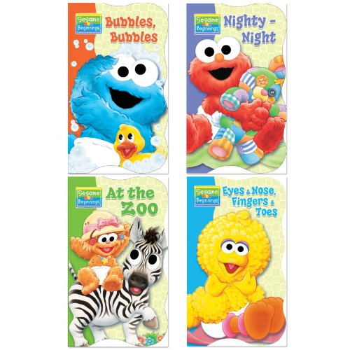Bendon Publishing Int. Sesame Beginnings Board Book (1 Pack) Assorted Styles