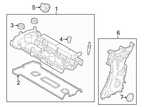 Ford Oem Engine Crankshaft Seal Cg1z6335a Image 7