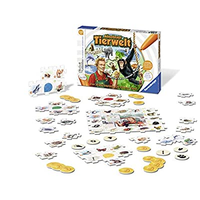 Ravensburger 00513 - tiptoi: Abenteuer Tierwelt - Wildlife (Pen Not Included): Toys & Games