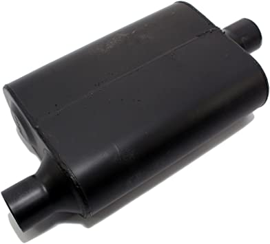 "Assault Welded Single Chamber Off-Road Truck Muffler 3/"" Center In//2.5/"" Dual Out"