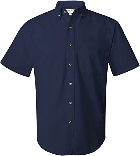0281 FeatherLite Short Sleeve Stain-Resistant Twill Shirt