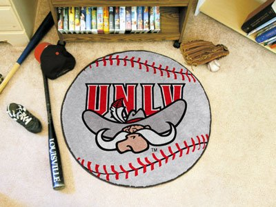 Fanmats Baseball Floor Mat - University of Nevada Las Vegas ()