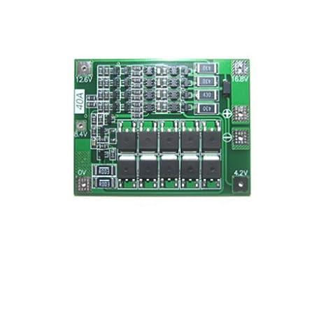 Batería de Litio 4S 40A 18650 Cargador PCB BMS Placa de protección ...
