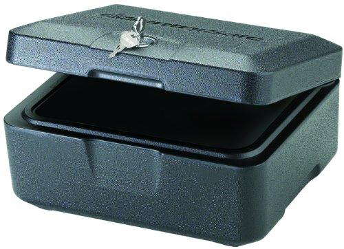 SentrySafe 500 FIRE-SAFE Box, 0.15 Cubic Feet, Black, Outdoor Stuffs
