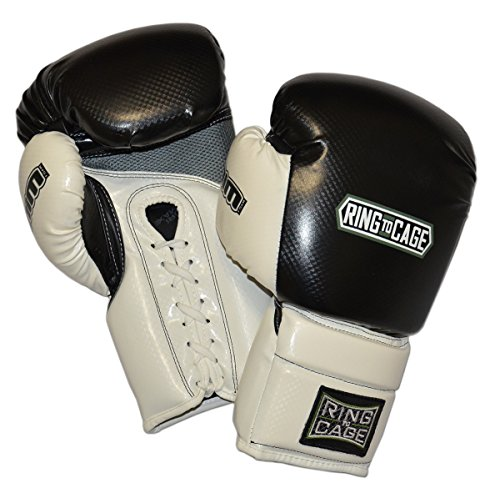 2.0 Deluxe MiM-Foam Sparring Boxing Gloves - Lace-up - 16oz (Gloves Raja Boxing)