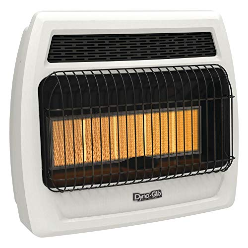 - Dyna-Glo IRSS30NGT-2N 30,000 BTU Gas Infrared Vent Free Thermostatic Wall Heater, Natural Flame