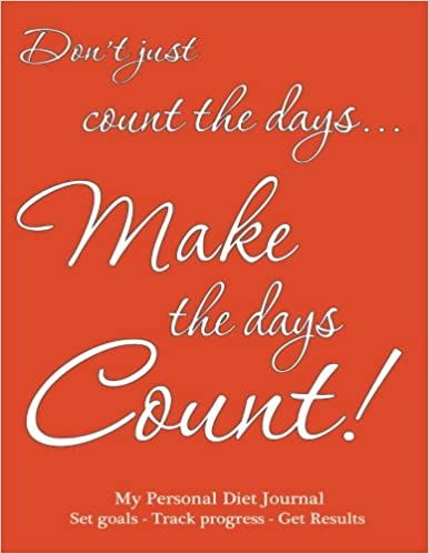 amazon my personal diet journal set goals track progress get