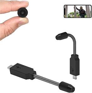 Mini Cameras PNZEO W7 Portable WiFi Camera Real Full HD Recording Hidden Home Security Wireless cam Multipurpose Camera