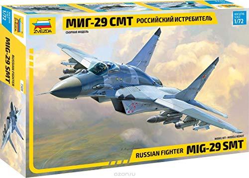 ZVEZDA 7309 - Russian Fighter MIG-29 SMT - Plastic Model Kit Scale 1/72 Lenght 9.5
