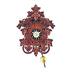 Alexander Taron Decorative Collectibles 0138QP - Engstler Battery-operated Clock - Mini Size with Music/Chimes