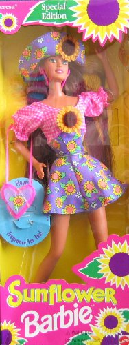 TERESA Sunflower Barbie Doll - Special Edition (1994)