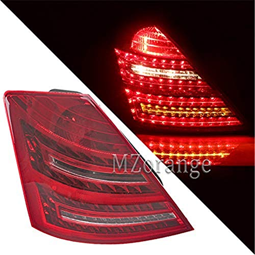 MZORANGE LED Tail Light Lamp For Mercedes-Benz W221 S-Class S400 S550 2009 2010 2011 2012 Brake Stop Indicator Light Signal Lamp with Bulb