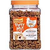 Friskies Party Mix Cat Treats; Original Crunch - 454 g Canister