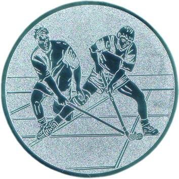 Pokal Emblem Hockey 25 mm//silber